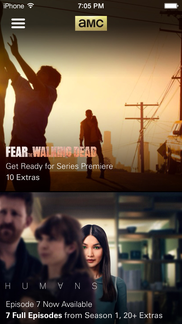 AMC: Stream TV Shows & Movies screenshot 1