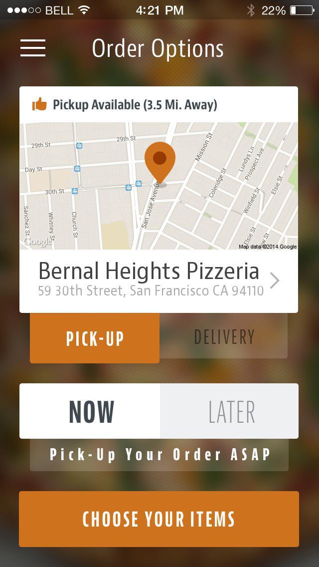 Bernal Heights Pizzeria screenshot 2