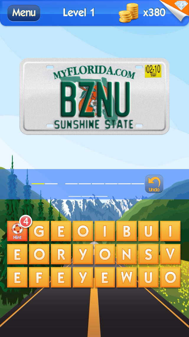 What's the Plate? - License Plate Game screenshot 4