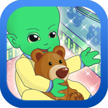 An Alien Baby Game: Play, love and Take Care of your own Alien Baby