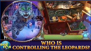 Fierce Tales: Feline Sight - A Hidden Objects Mystery Game screenshot 2