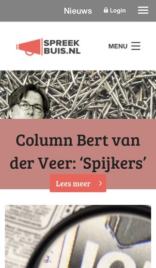 Spreekbuis.nl screenshot 1