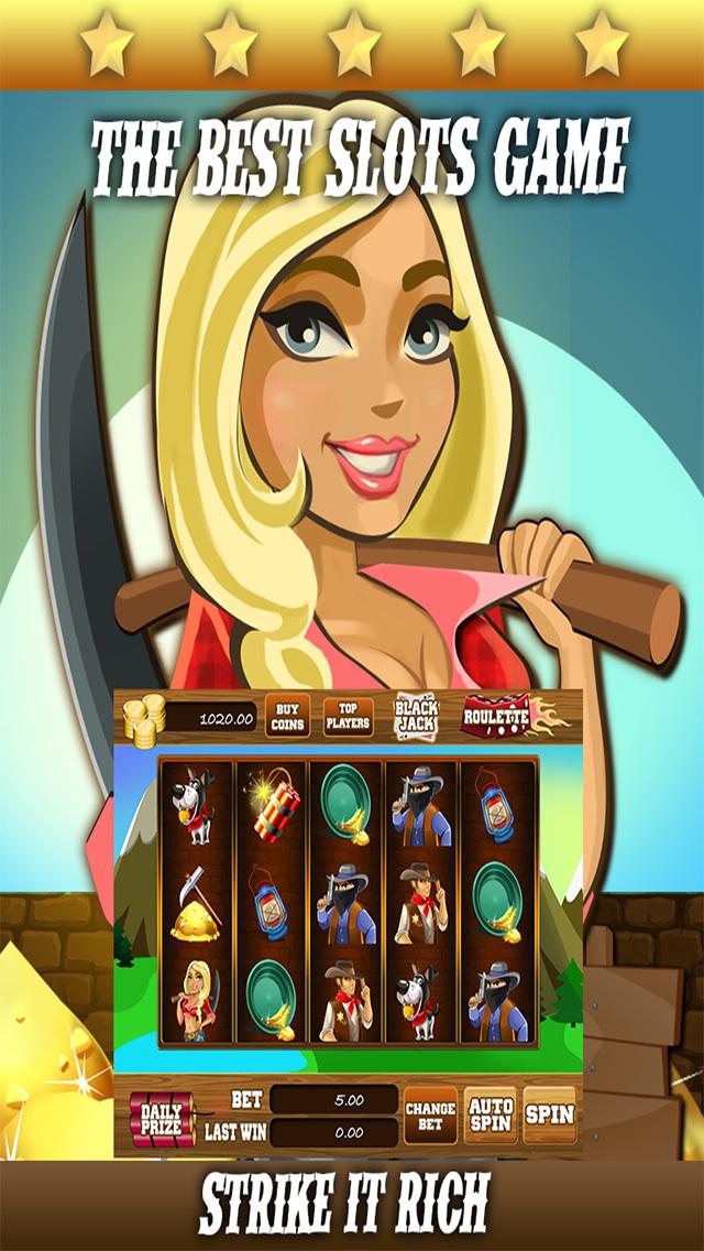 AAA Gold Mine Slots - 777 Free Casino Slot Machine Games screenshot 2