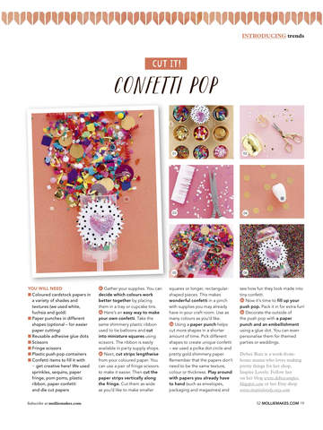 Mollie Makes Magazine - Craft screenshot 7
