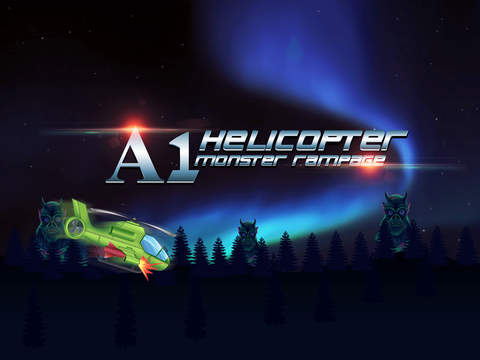 A1 Helicopter Monster Rampage - cool airplane shooting mission game screenshot 4