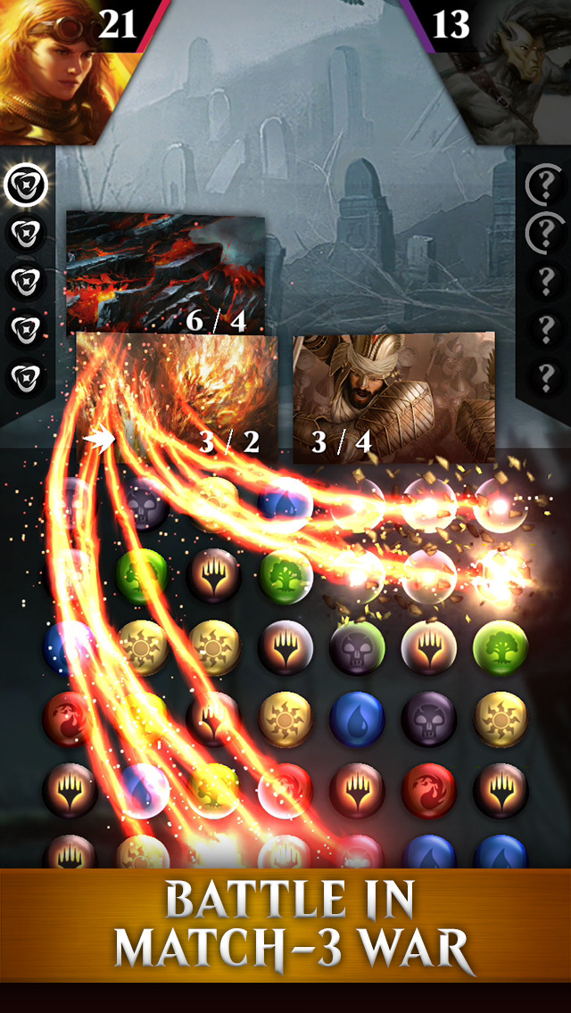 Magic: Puzzle Quest screenshot 2