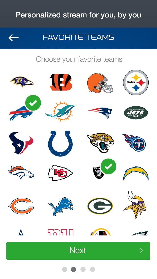 NFL Now screenshot 2