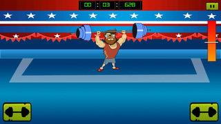 ` Hipster Weight Lifting: Tiny Meat Head Battle Competition Games screenshot 3