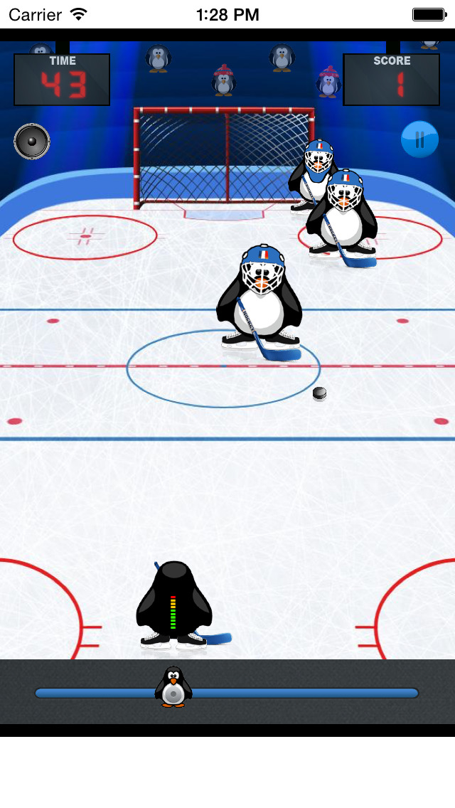 Ice Hokey Penguins screenshot 4