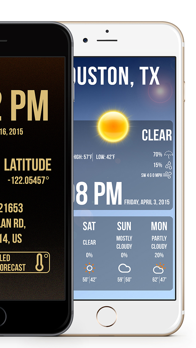 LocWeather - Widget / Weather / Location screenshot 2