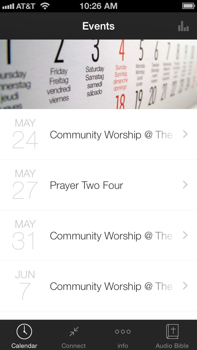 The Porch Church Portales screenshot 1