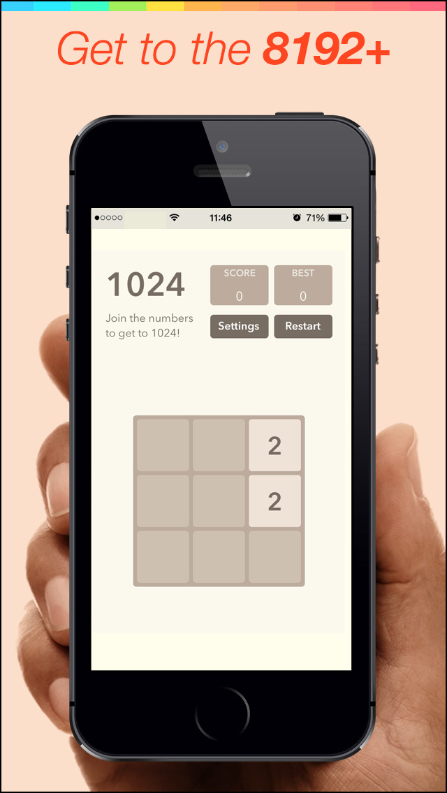 8192 Pro Number Puzzle game screenshot 2
