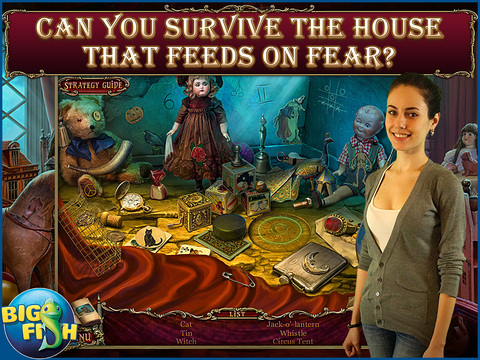 Tales of Terror: House on the Hill HD - A Scary Hidden Object Game screenshot 2