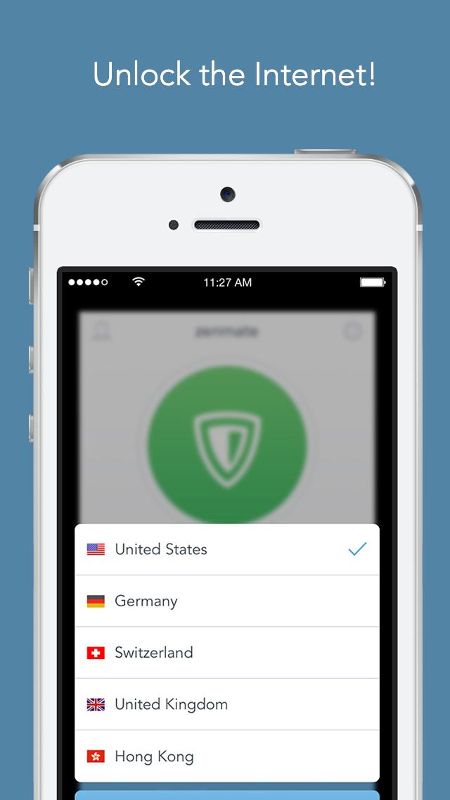 ZenMate VPN & WiFi Proxy screenshot 5