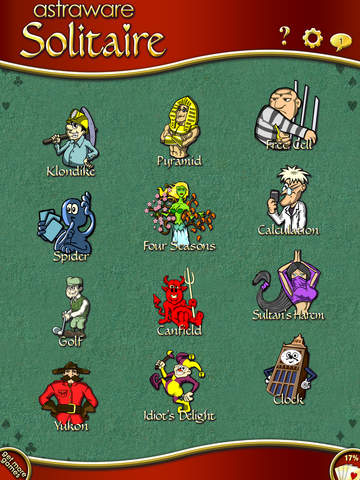 Astraware Solitaire - 12 Games screenshot 8