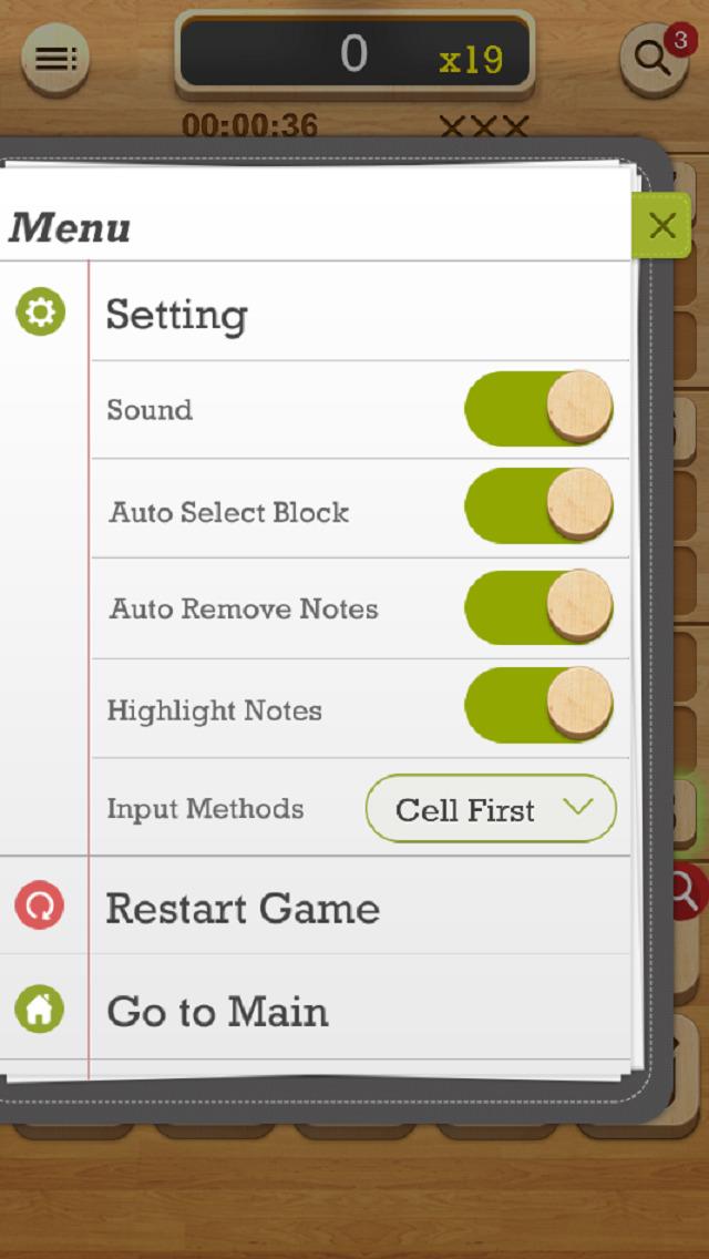 Sudoku Cafe screenshot 4