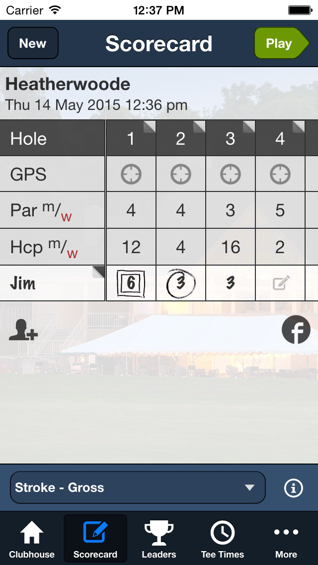 Heatherwoode GC screenshot 3