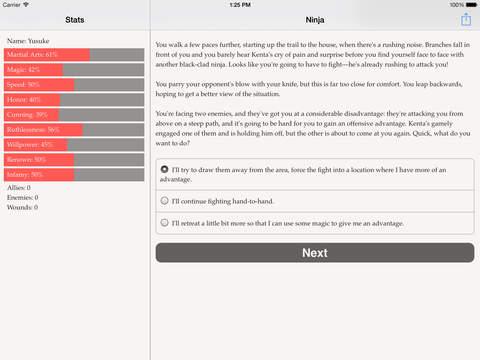 Choice of the Ninja screenshot 9