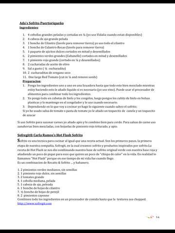 Sofrito Magazine En Español screenshot 9