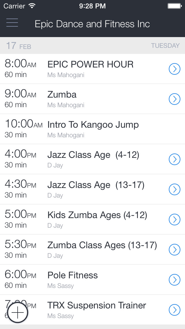 Epic Dance And Fitness Inc screenshot 1