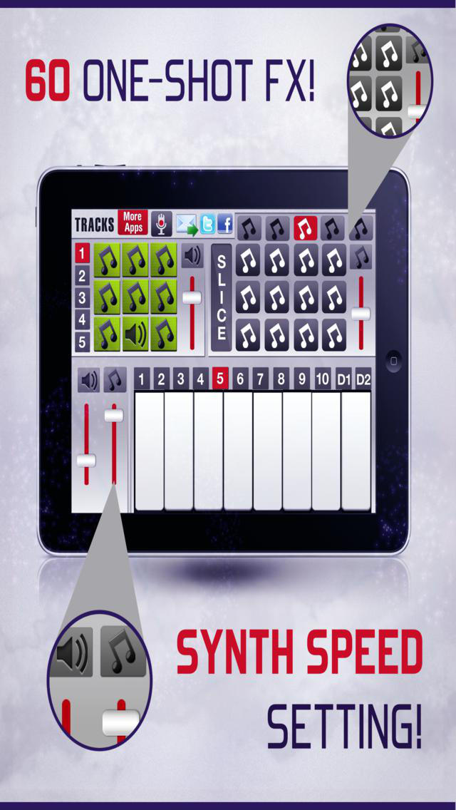 Dubstyler Dubstep Music Drum Machine & Synthesizer screenshot 1