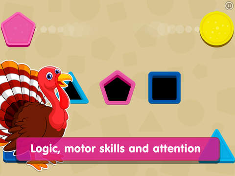 Smart Baby Shapes: Learning games for toddler kids screenshot 6