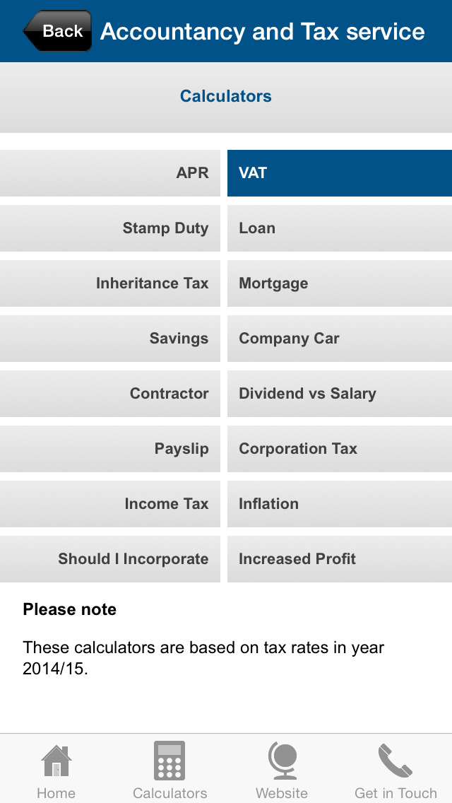 Accountancy and Tax service screenshot #3