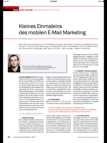 ecommerce Magazin screenshot 6