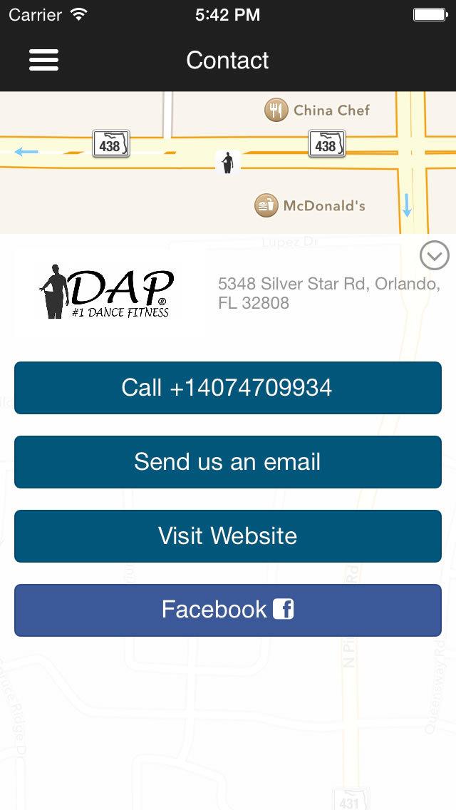 DAP Fitness screenshot #2