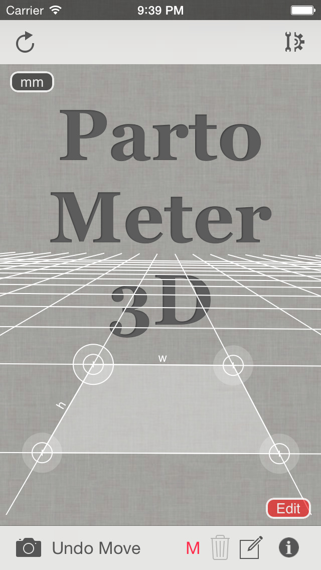 Partometer3D measure on photo screenshot 1