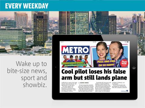 Metro Newspaper screenshot 6