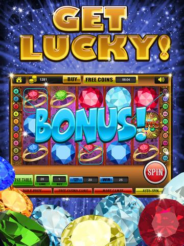 Ace Gem & Jewel Slots Jackpot Machine Games - Lucky Spin To Win Prize Wheel Casino Game Free screenshot 10