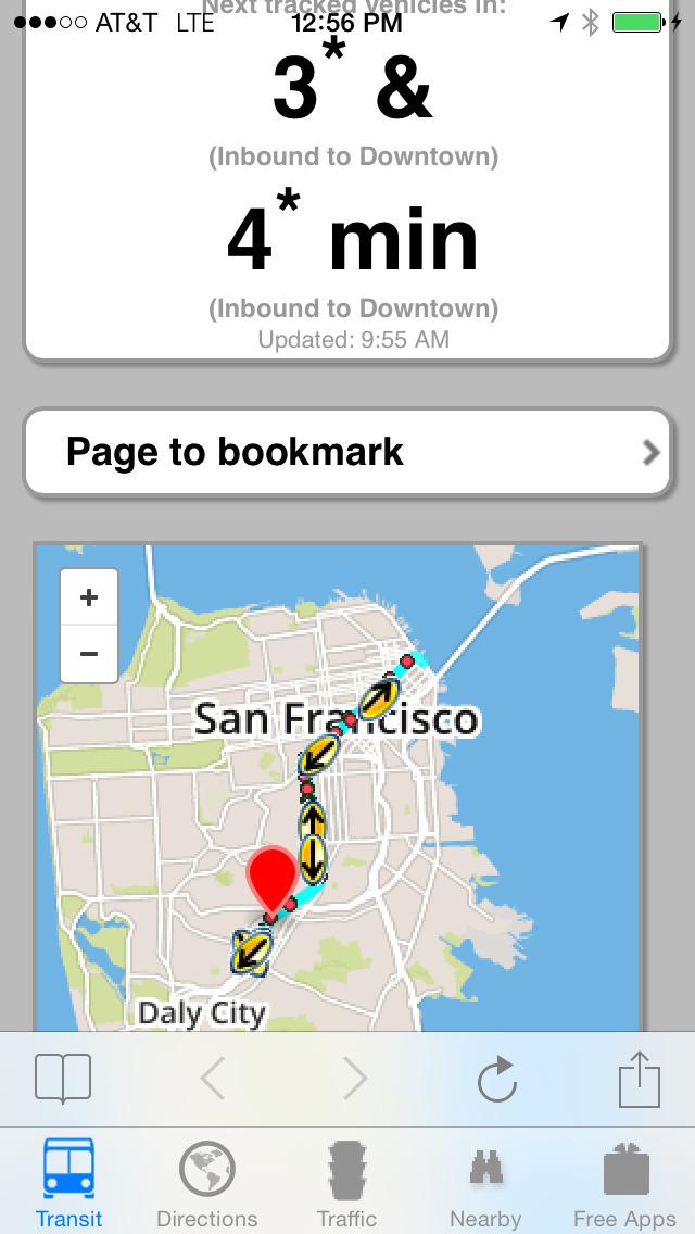 Next Bus Real Time Lite screenshot 2