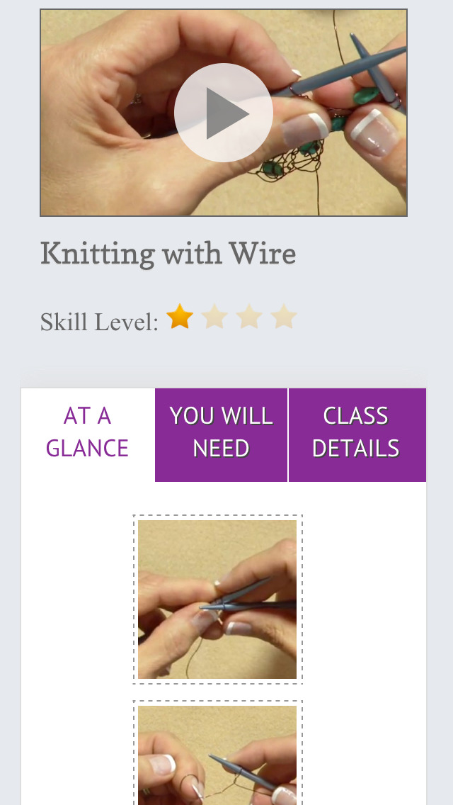 Introduction to Wire Knitting & Crochet screenshot 4
