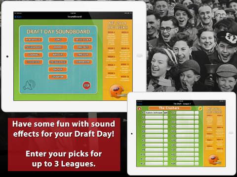FFC 2014 - Fantasy Football Calculator and Draft Kit screenshot 5