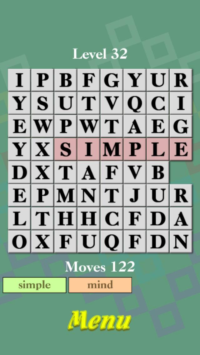 Brain Blocks - Mix & Search Words screenshot 2