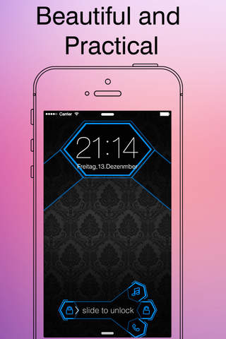 customize iphone lock screen all about locklab free custom lock screen background 6150