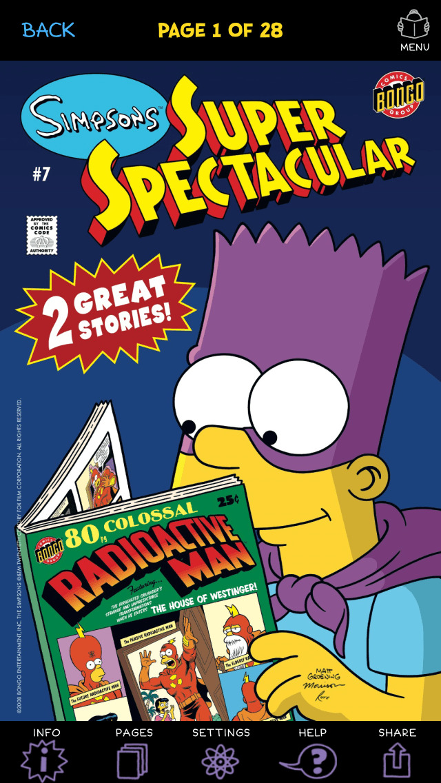 Simpsons Store screenshot 3