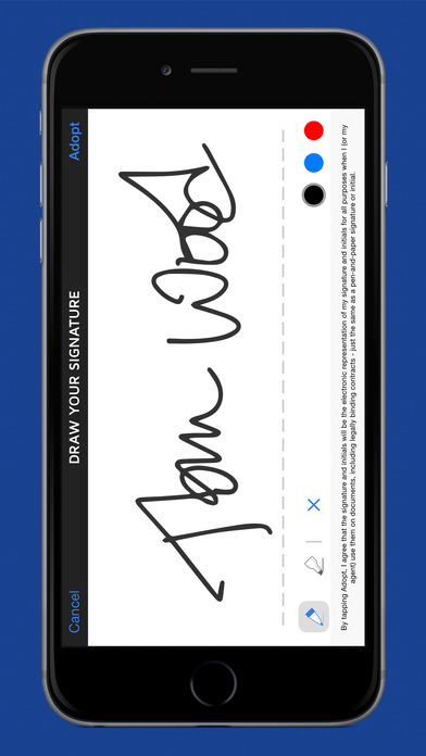 sign a pdf on iphone docusign sign amp send documents amp pdf on the app 18009