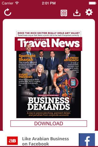 Arabian Travel News - náhled