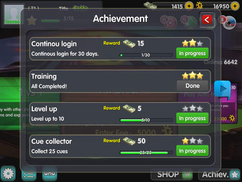 SnookerOL screenshot 10