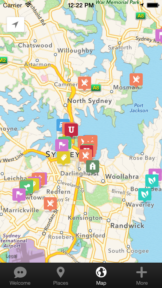 Sydney Urban Adventures - Travel Guide Treasure mApp screenshot 5