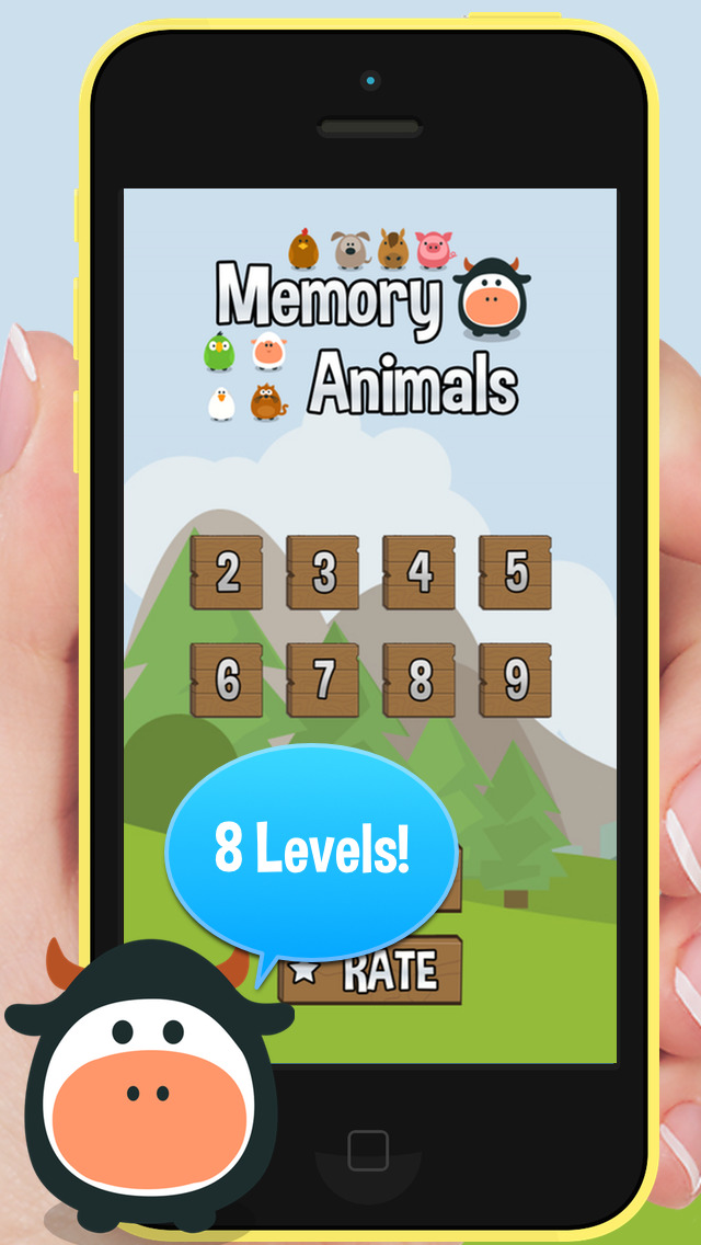 Animal Sounds Memory screenshot #1