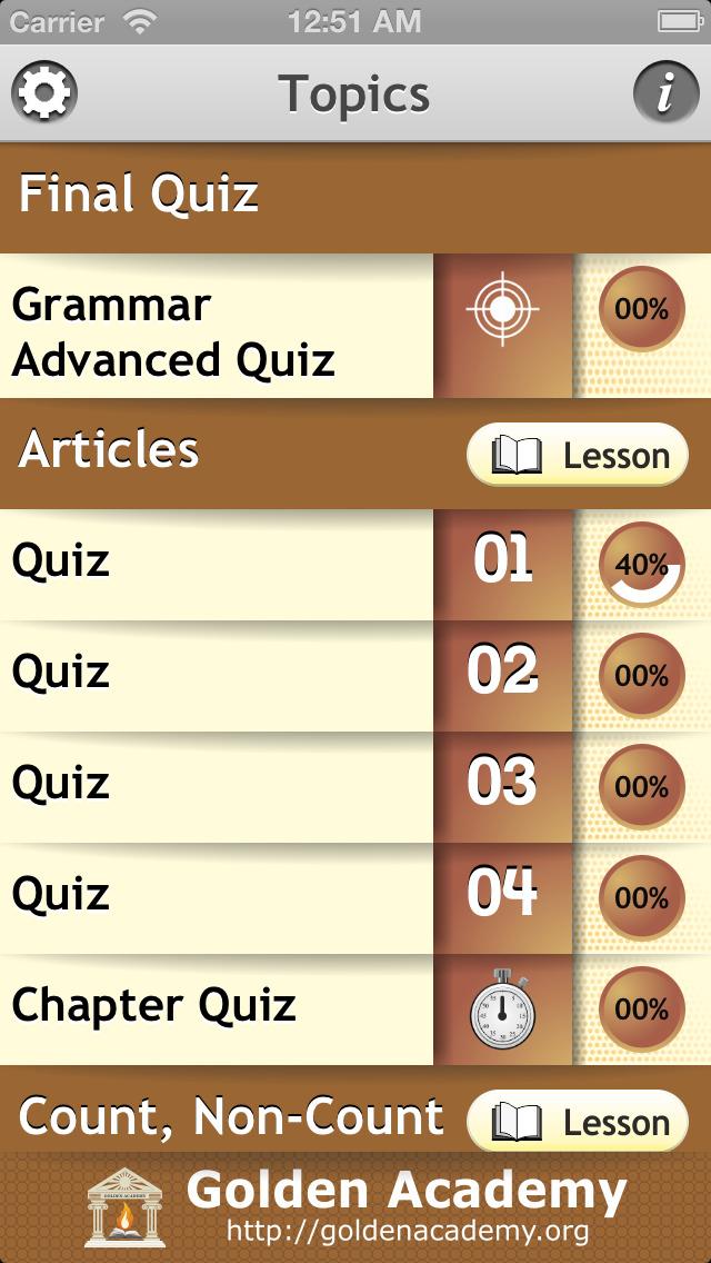 Grammar Expert : English Grammar Advanced FREE screenshot 2