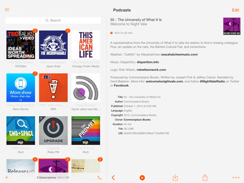 Instacast 5 - Podcast Client screenshot 10