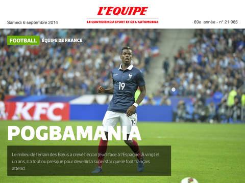 MyL'Équipe - Votre journal, mais en numérique ! screenshot 7