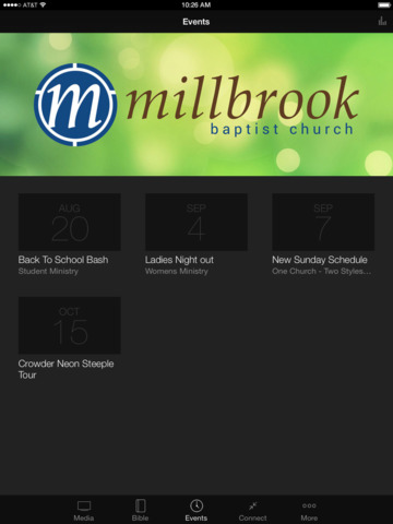 Millbrook Baptist Church screenshot 7