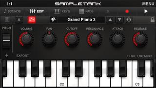 SampleTank CS screenshot 1