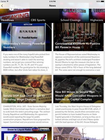 5 News WV's news source screenshot 7