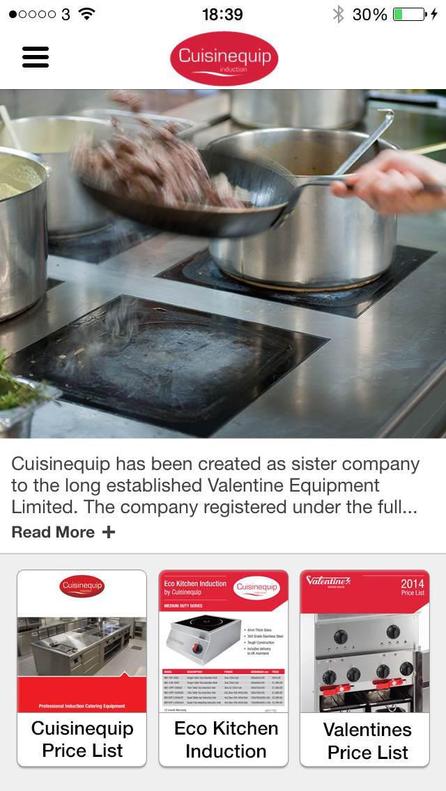 Cuisinequip screenshot 1